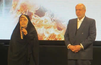 Iran´s Vice President, H.E. Masoumeh Ebtekar, participated at the Award Ceremony